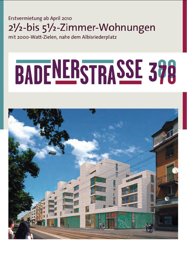Riqualificazione Urbana - Edilizia Convenzionata a Zurigo