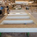 preparazione degli elementi strutturali in legno