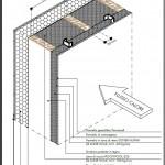 Trasmittanza progettuale struttura opaca verticale lato esterno/lato interno riscaldato